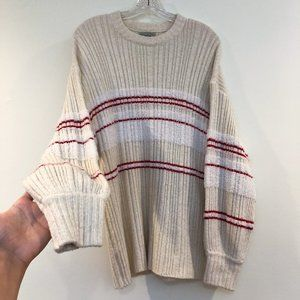 Urban Outfitters Knit Princess Sleeve Sweater S